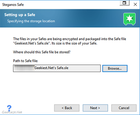 Safe file path