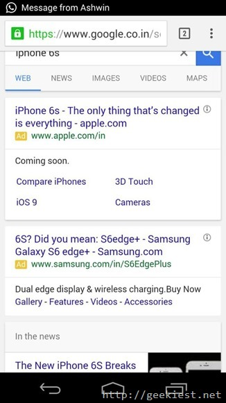 Samsung Ad trolls iPhone 6s