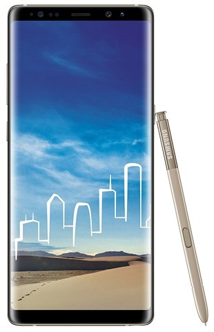 Samsung Galaxy Note8 Maple Gold