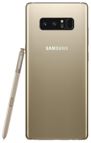 Samsung Galaxy Note8 Maple Gold a