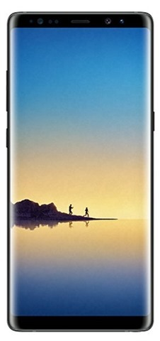 Samsung Galaxy Note8 Midnight Black