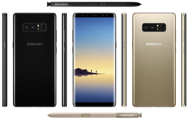 Samsung Galaxy Note8 leaked images
