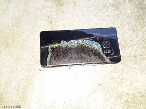 Samsung Galaxy Note 7 Exploded (2)