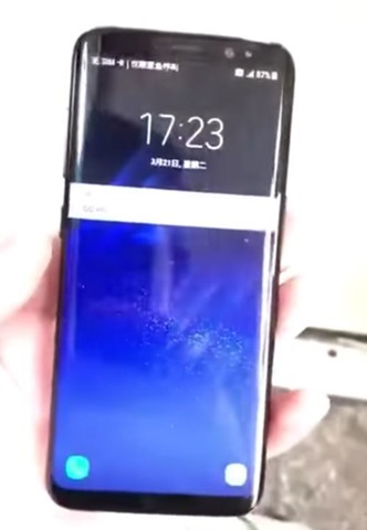 Samsung Galaxy S8 video