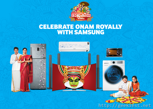 Samsung Onam Offers