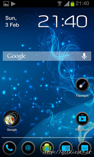 Apex Blue Circle Theme by Geekiest