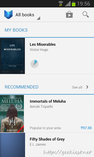 Google Play Books in India