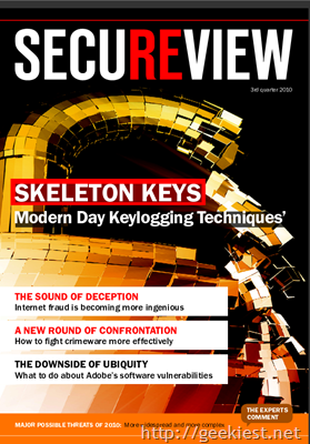 Secureview is an electronic magazine from Kaspersky Lab