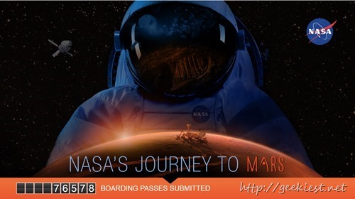 Send your name to Mars on Orion, NASA's new spacecraft