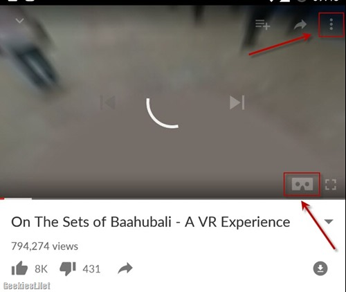 Sets of Bahubali 2 in Virtual Reality -1