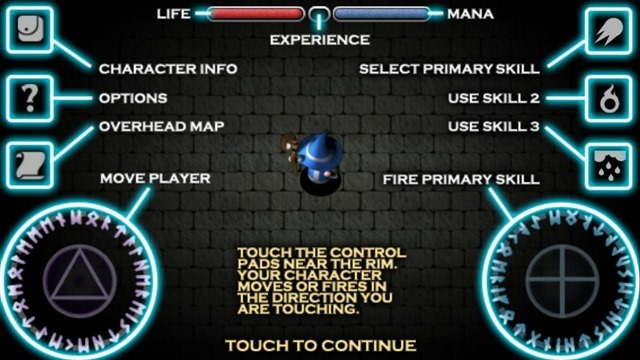 Solomon's Keep Android version GUI