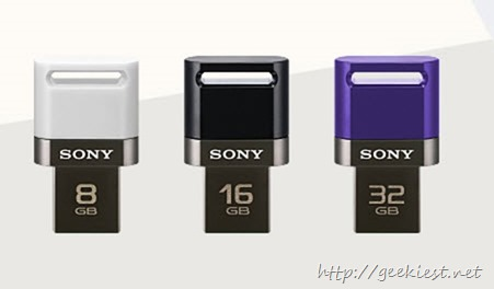 Sony launches pen drive for smartphones