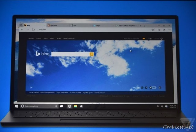 Spartan Browser Windows 10