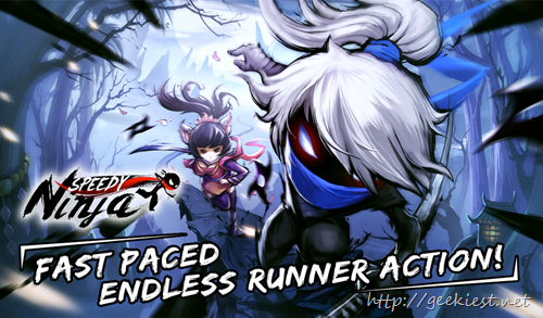 Speedy Ninja–Endless runner android game–now in closed beta