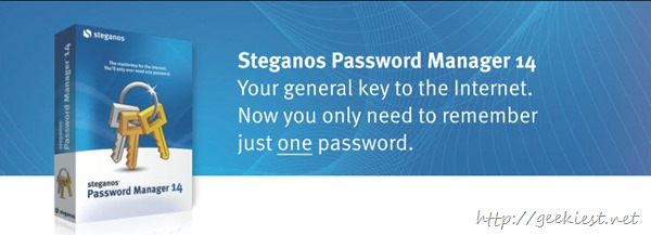Steganos Password Manager 14  Giveaway