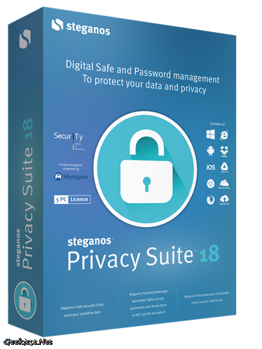 Steganos Privacy Suite 18 - Giveaway