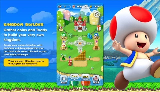 Super Mario Run Kingdom Builder