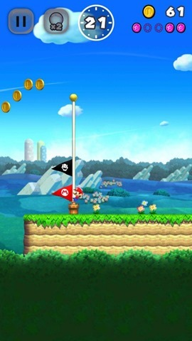 Super Mario Run flag