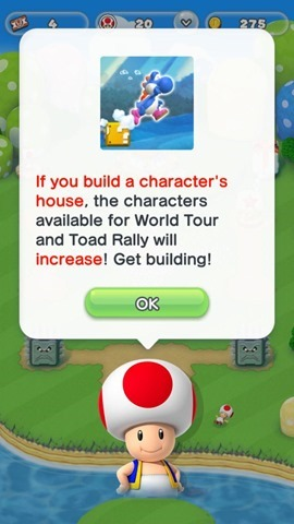 Super Mario Run unlock characters