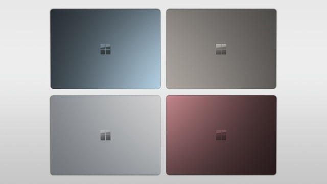 Surface Laptop Colours