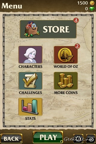 Temple Run Oz 1500 Bonus Coins