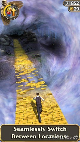 Temple Run Oz Changing Locations