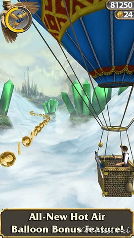 Temple Run Oz Hot Air Balloon