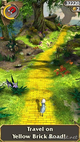 Temple Run Oz Yellow Brick Road