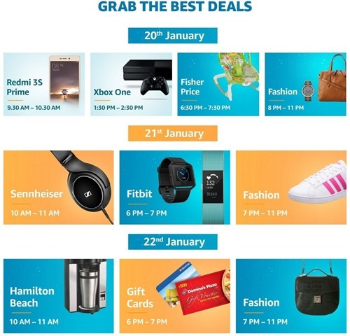 The Great Indian Sale Amazon 2017