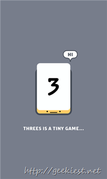 Threes available for Windows Phones now