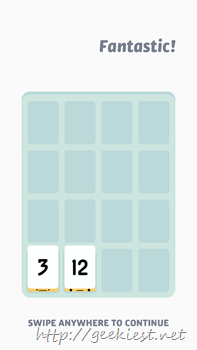 Threes for Windows Phone Screenshot- 10