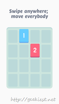 Threes for Windows Phone Screenshot- 5