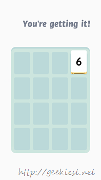 Threes for Windows Phone Screenshot- 8