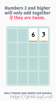 Threes for Windows Phone Screenshot- 9