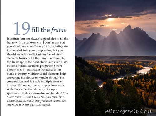 Tip 19 - Fill the frame