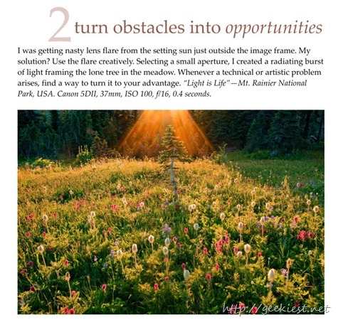 Tip 2 - turn obstacles into opportunities