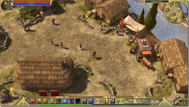 Titan Quest New Graphics and Old HUD