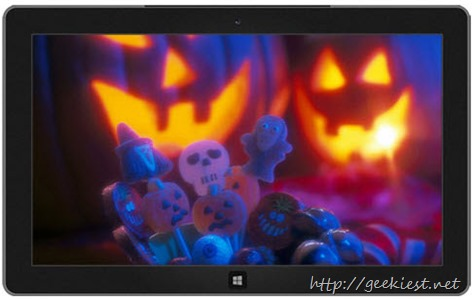 Trick or Treat Halloween theme for Windows