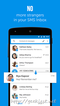Truemessenger–SMS manager from True caller