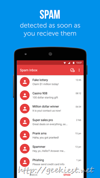 Truemessenger - Spam inbox