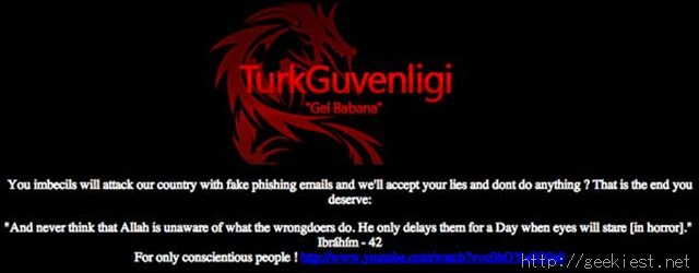 TurkGuvenligi Syrian Electronic Army