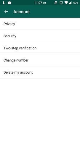 Two-Step Verification in WhatsApp 2