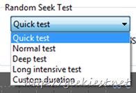 Read test your hard disk settings