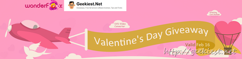 Valentinesday giveaway Geekiest and Wonderfox