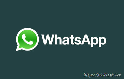 WhatsApp–Now supports back up your chats to Google Drive