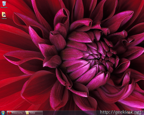 Windows7-Theme-RSS-based-Flowers