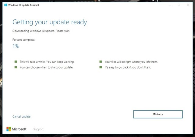 Windows 10 Creators Update download