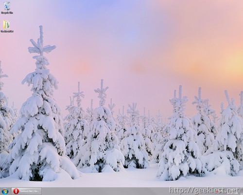 Winter - Windows 7 theme