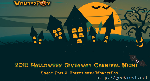 Wonderfox Halloween Giveaway Carnival
