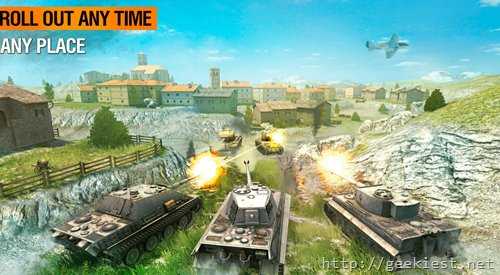 World of Tanks Blitz available for Windows Mobile